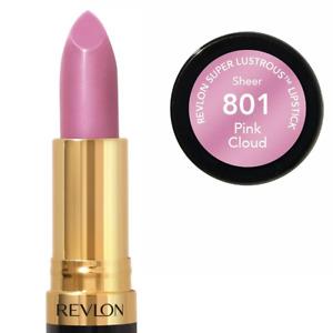 Revlon Super Lustrous Lipstick 801 Pink Cloud - Shine