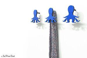 Modern Wall Hook Octopus - Kids Room decor, Coat Hook,Wall Pegs, Wall Key Hanger