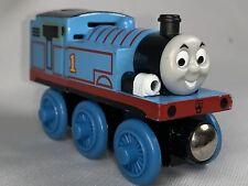 Thomas Talking Light Up Engine Wooden Railway #1 Blue Wood 2420WJ0