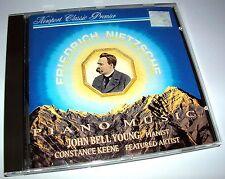 RARE - FRIEDRICH NIETZSCHE PIANO MUSIC CD JOHN BELL YOUNG 1992 NEWPORT CLASSIC