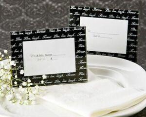 Live Love Laugh Place Card Holder Frames Bridal Shower Wedding Favors