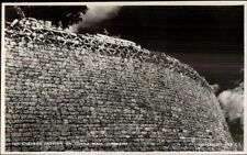 Zimbabwe - Temple Wall Real Photo Postcard