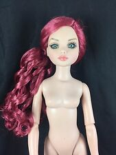 ELLOWYNE WILDE Woefully Romantic w/ Pink Curly Hair Wig ~ Nude Doll Only ~ NEW~