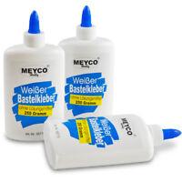 MEYCO Bastelkleber Weißer Bastelkleber, 250g Flasche