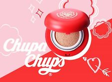[chupa chups] Candy Glow Cushion Strwaberry SPF 50+,PA+++ / 5 in 1 / 14g,0.49oz