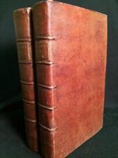1751 THE WORKS OF SIR WALTER RALEGH PHILOSOPHY TWO VOLUME SET CALF