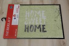 Paillasson Schöner Wohnen 133 Home Sweet Home Vert 70x110 cm Paillasson