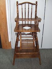 Victorian Metamorphic 4-in-1 Child's High Chair