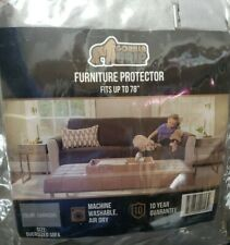 "Charcoal Gorilla Grip Furniture Protector fits up to 78"" for Oversized Sofa"