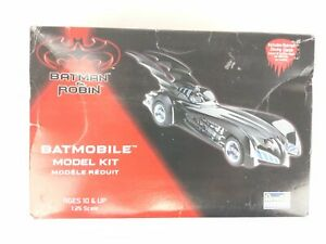 1997 Revell Batman & Robin Batmobile Model Kit 1:25 Complete Open Box Modern Car