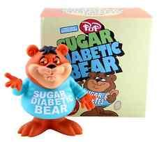 Sugar Diabetic Bear by Ron English Vinyl Figure