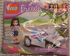 LEGO FRIENDS - 30103 EMMA'S CAR - NEW SEALED - PROMO HARD TO FIND