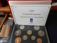 More details for royal mint  1992 delux proof coin set ( eu  presidency 50p )