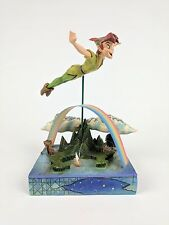 DISNEY TRADITIONS Jim Shore PETER PAN Soars To The Stars Soar Flying Collectable