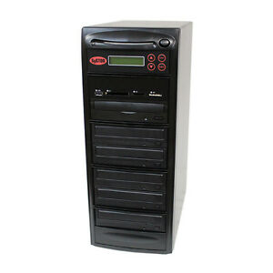SySTOR 1-5 USB/SD/CF/MS/MMC MultiMedia Backup Copier to CD DVD Duplicator