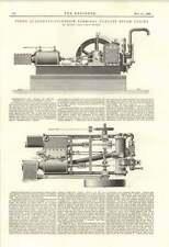 1895 Leonard Todd Terminale di scarico del motore a vapore