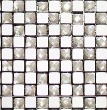 SAMPLE SIZE MOSAIC TILE, PEEL AND STICK - EASY DIY