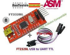 FT232BL USB to TTL FT232 5V 3.3V Download Cable to Serial Adapter Module + Cable