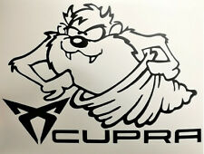 CUPRA TAZ  Loony Tunes Tasmanischer Teufel Aufkleber Sticker SEAT 150mm  Ibiza