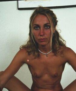 22) HAIRY BLONDE NUDE FEMALE PIN UP ART 35mm Negatives YBW STUDIO P-8
