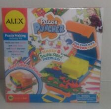 Puzzle Puncher 8 Double Sided Puzzle Making Activity Kit New Sealed Alex Toys