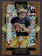 Tom Brady 2016 Panini Select Copper Bronze Prizm Card #296  #11/49 SP