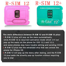 RSIM12+!! R-SIM Nano Unlock Card for iPhone XS MAX/XR/XS/8/7/6 4G iOS 12 11 Lot