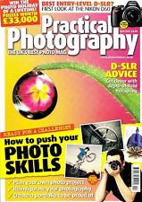 Practical  Photography  magazine with Nikon D60 D300 Sony A700 tests  April 2008