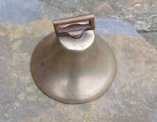 Antique Brass Cow Goat Bell With Original Clapper