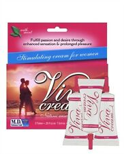 Viva Cream 3 Tube Pack - Female Stimulating Clitoral Sex Enhancement Gel