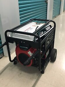 NorthStar 165606 Generator 13000surge Watts. Only .3 hours!!!