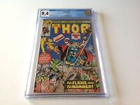 THOR 247 CGC 9.4 WHITE PAGES FIRELORD JOHN BUSCEMA MARVEL COMICS