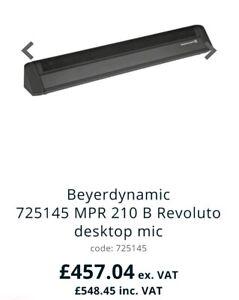 Beyerdynamic MPR 210 B Microphone Bar for Conference Hall