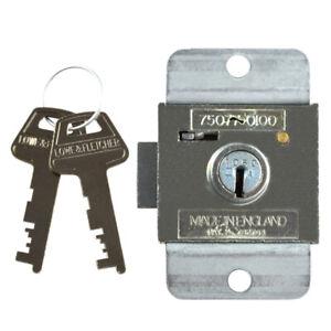 Lowe and Fletcher 7 Lever Deadbolt Locker Lock - 6mm ZA