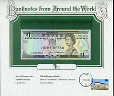 Fiji $1 Dollar Nd (1987) P-86 Unc. - Banknotes from Around the World