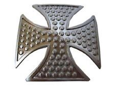 Iron Cross Silver With Dots Belt Buckle