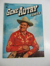 Gene Autry Comics #24 February (Dell Comics 1949) Golden Age Western G/VG
