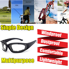 Clear Outdoor Wind Resistant Sunglasses Extreme Sports Motorcycle Riding Glasses