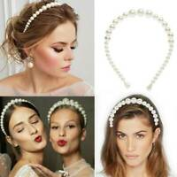 Pearl Headband Hairband Bride Wedding Bloggers Hair Accessory UK