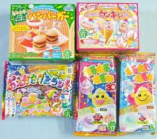 5 Pieces Kracie Candy Set Popin Cookin Happy Kitchen Japanese Candy Kit Gift