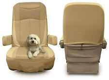 Brand New RV Motorhome Seat Covers & Armrest Covers with GripFit Design 2 PACK