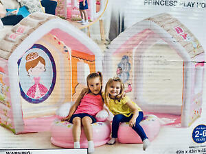 Intex Princess Play House, Inflatable Play House w/ Air Furniture~DISCOUNTED