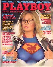 August 1981 Playboy Valerie Perrine Superman Debbie Boostrom