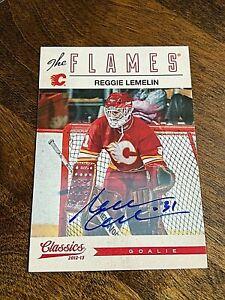 2012-13 Classics Signatures Autographs #94 Reggie Lemelin