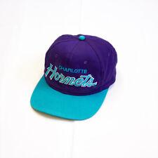 Charlotte Hornets Snapback Cap | Vintage 90s NBA Basketball Retro Sports Purple