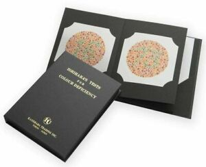 Ishihara Test Book (24 Plates)Test for Red-Green Color Deficiencies Best Quality
