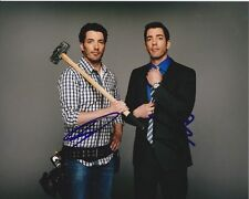 DREW & JONATHAN SILVER SCOTT Signed Autographed PROPERTY BROTHERS Photo
