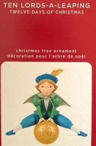 2020 Hallmark Ornament Ten Lords A Leaping 12 Twelve Days of Christmas  #10