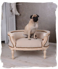 VINTAGE DOG BED DOG SOFA ROYAL BED FOR DOGS & CATS Chair BAROQUE