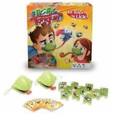Tic Tac Tongue Chameleon Mask Bug Catch Quickdraw Game Kids Family Christmas Fun